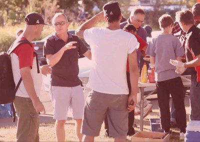 Outreach_sausage-sizzle-talking2